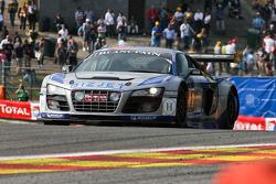#41 Sainteloc Racing Audi R8 LMS: Pierre Hirschi, Robert Hissom, Marc Sourd