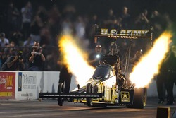 The canopy in action on Tony Schumacher's Top Fuel