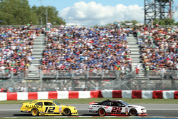 Sam Hornish Jr. en Jacques Villeneuve