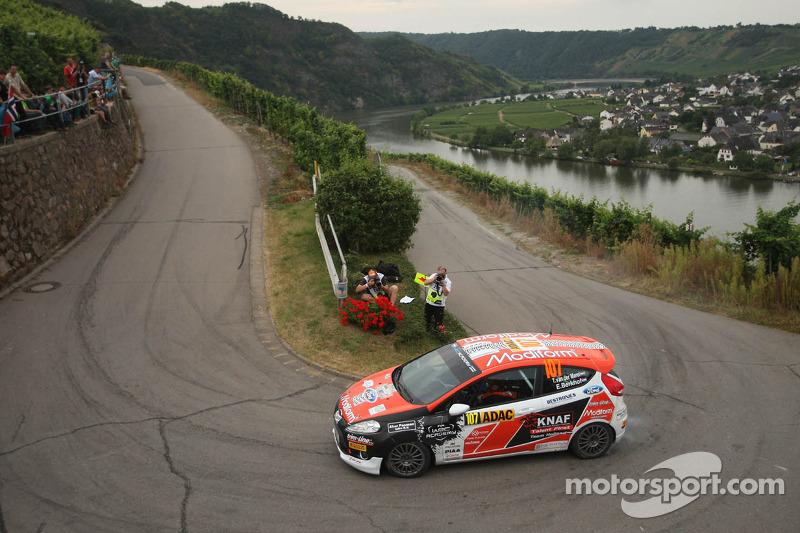 Timo van der Marel en Erwin Berkhof, Ford Fiesta R2