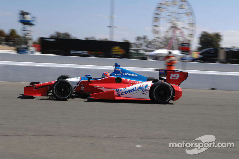 James Jakes, Boy Scouts of America Dale Coyne Racing Honda
