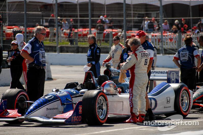 Mario Andretti, klaar voor Fan Appreciation Hot Laps