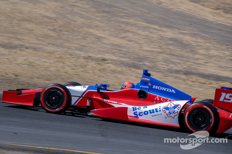 James Jakes, Dale Coyne Racing,  Honda