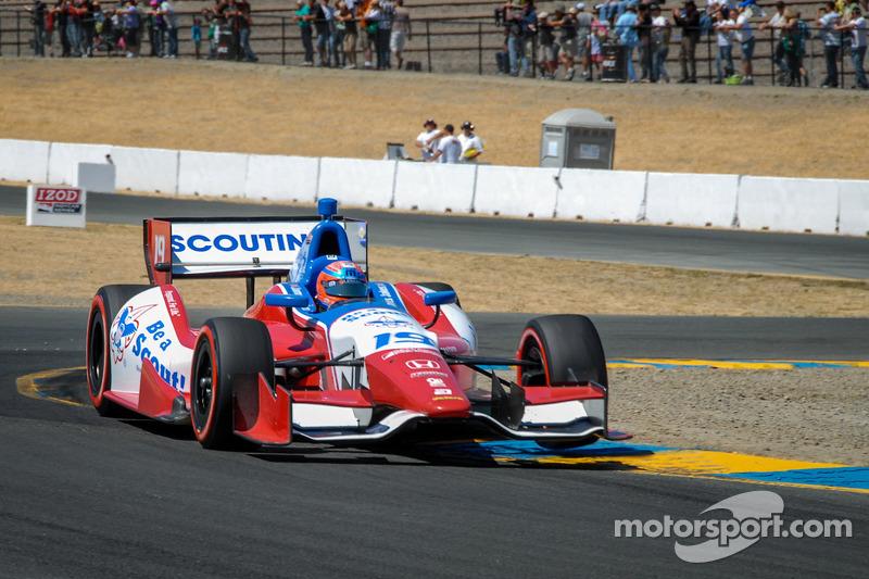 James Jakes, Dale Coyne Racing,  Honda
