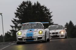 #81 Dörr Motorsport Porsche 911 GT3 997: Stefan Aust, Dennis Trebing