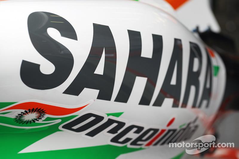 Sahara Force India F1 Team sidepod