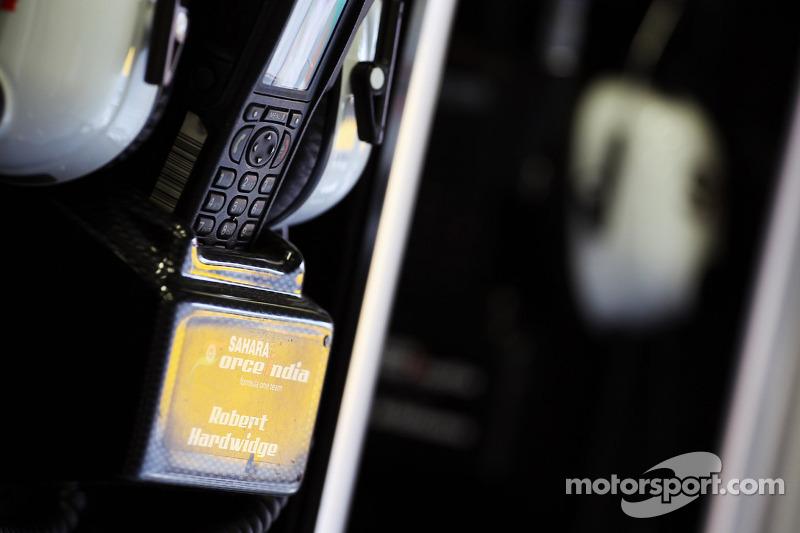 Sahara Force India F1 Team headset