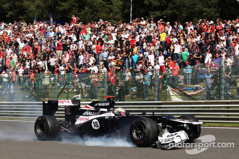 GP de Bélgica 2012 Carrera