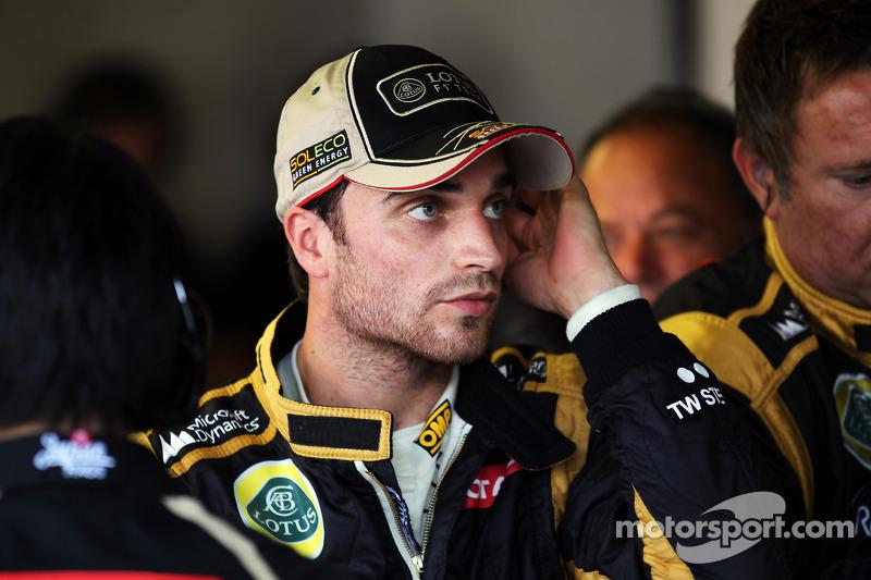 2012: Жером Д'Амброзио вместо Ромена Грожана (Lotus, Гран При Италии)