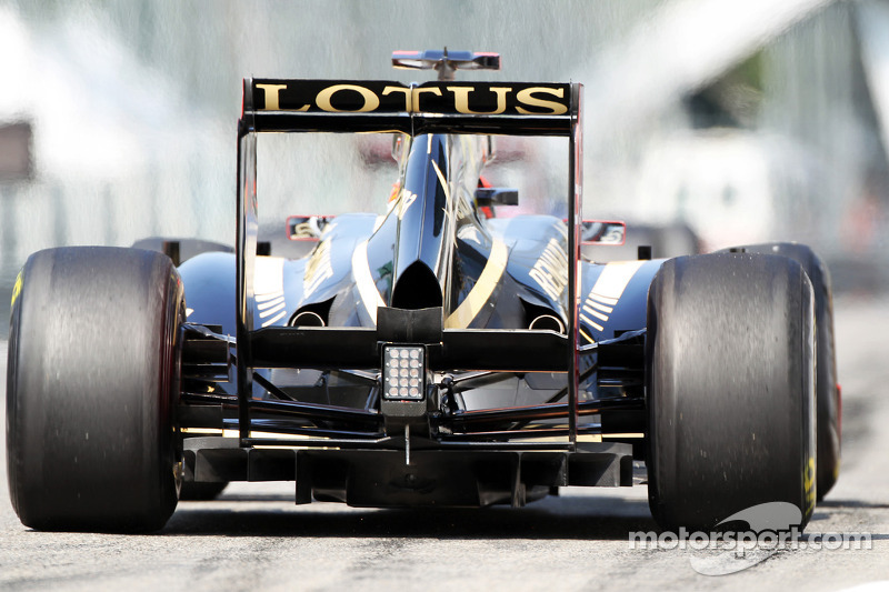 Jerome d'Ambrosio, Lotus F1, diffuser
