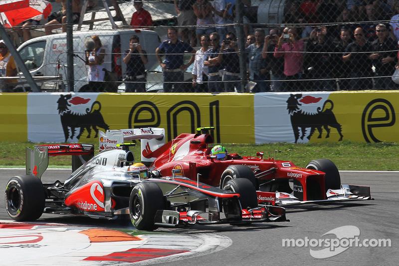 2012 İtalya GP: Lewis Hamilton, McLaren Mercedes