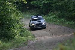 Steeve Hobbs and Jean-Mathieu Tremblay, Subaru WRX Sti