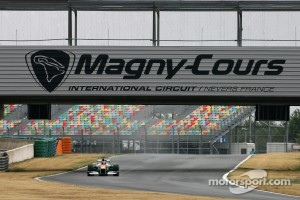Magny Cours International Circuit, France.