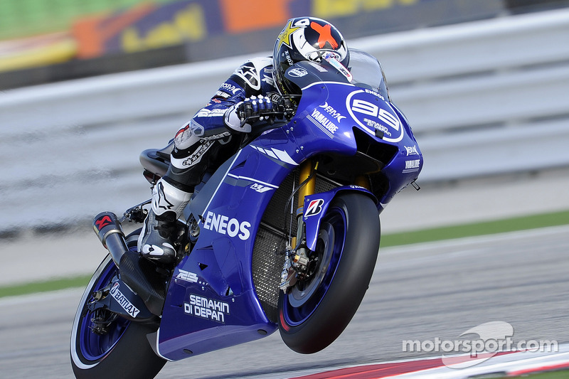 Jorge Lorenzo, Yamaha - GP van San Marino 2011