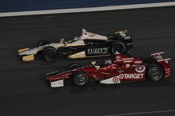 Ed Carpenter, Ed Carpenter Racing Chevrolet and Scott Dixon, Target Chip Ganassi Racing Honda