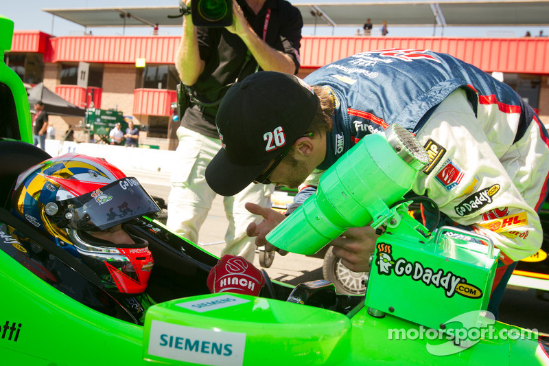James Hinchcliffe, Andretti Autosport Chevrolet en Marco Andretti, Andretti Autosport Chevrolet