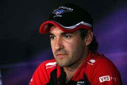 Timo Glock, Marussia F1 Team in de persconferentie