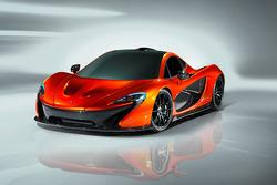 Fotoshooting: McLaren P1