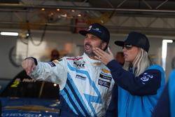 Yvan Muller, Chevrolet Cruze 1.6T, Chevrolet y su novia Justine Monnier