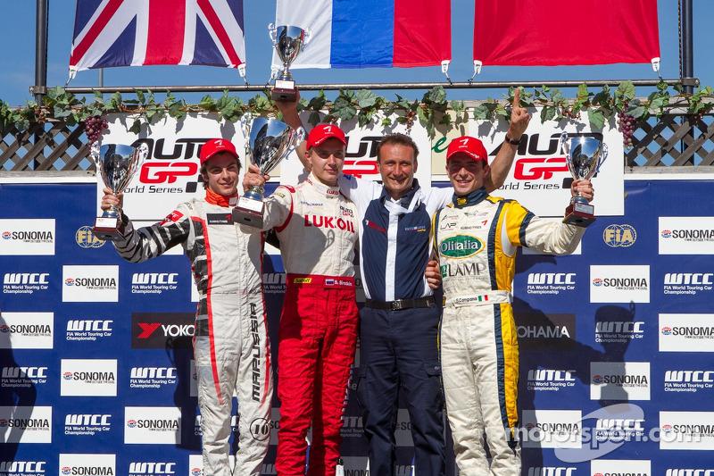 Sergey Sirotkin, Adrian Quaife-Hobbs, Sergio Campana