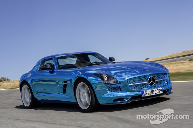 The Mercedes-Benz AMG SLS electric car