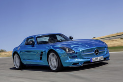 Mercedes AMG SLS Electric Car unveiling
