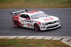 #57 Stevenson Auto Group Stevenson Motorsports Camaro GT.R: John Edwards, Robin Liddell