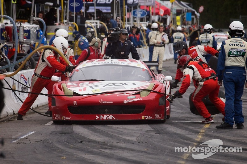 #69 FXDD AIM Autosport Team FXDD with Ferrari Ferrari 458: Emil Assentato, Jeff Segal