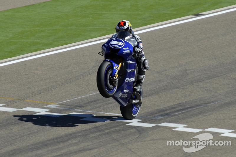 Lorenzo logró su mejor puesto hasta la fecha en Motorland acabando 2º en 2012