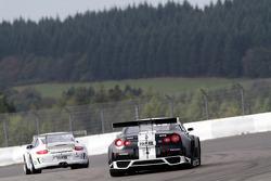 #171 Schulze Motorsport Nissan GT-R: Tobias Schulze, Michael Schulze, Kazunori Yamauchi