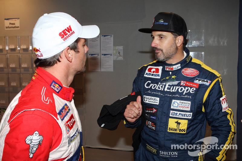 Sébastien Loeb and Yvan Muller
