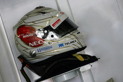 The helmet of Kamui Kobayashi, Sauber