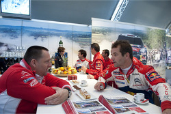 Yves Matton and Sébastien Loeb, Citroën Total World Rally Team