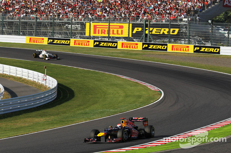 Sebastian Vettel, Red Bull Racing voor Kamui Kobayashi, Sauber