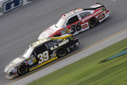 Ryan Newman and Dave Blaney