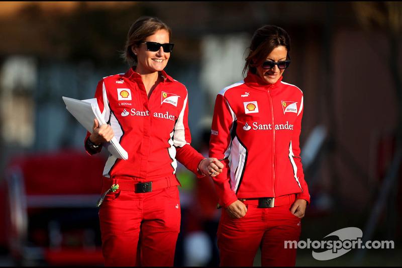 Scuderia Ferrari press officers