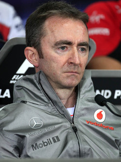 Paddy Lowe, McLaren Mercedes