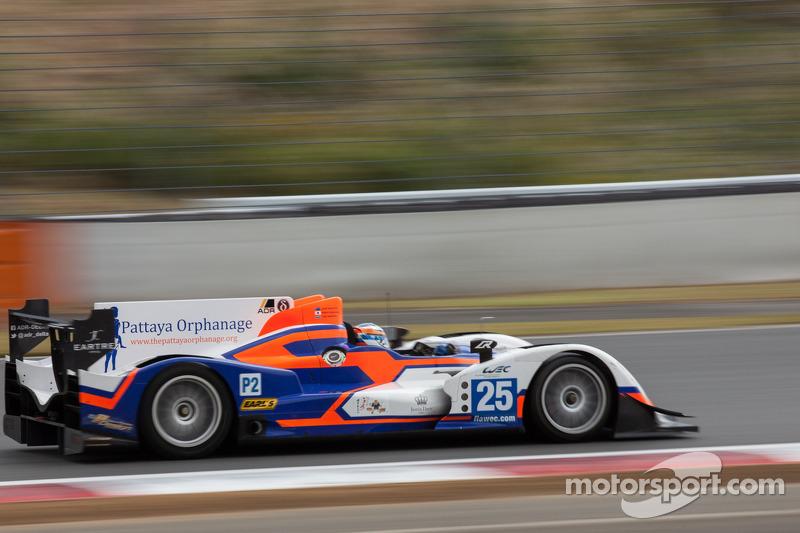 #25 ADR-Delta Oreca 03 Nissan: John Martin, Tor Graves
