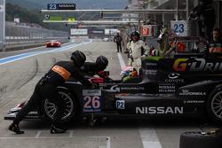 #26 Signatech Nissan Oreca 03: Pierre Ragues, Nelson Panciatici, Roman Rusinov