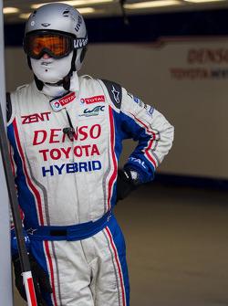 Toyota pit crew
