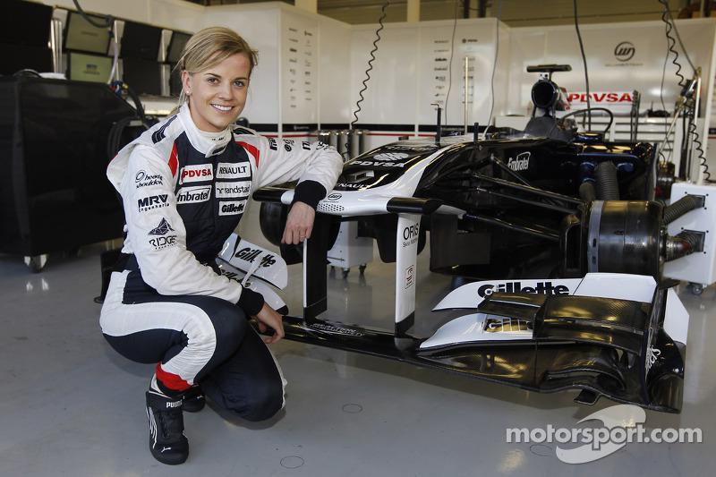 Сюзі Вольфф, Williams FW33