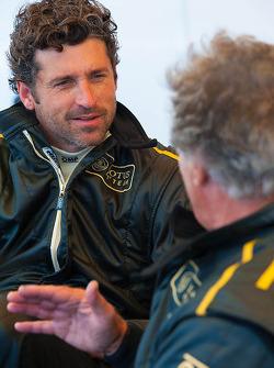 Patrick Dempsey and Mario Andretti