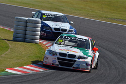 Stefano D'Aste, BMW 320 TC, Wiechers-Sport and Alberto Cerqui, BMW 320 TC, ROAL Motorsport