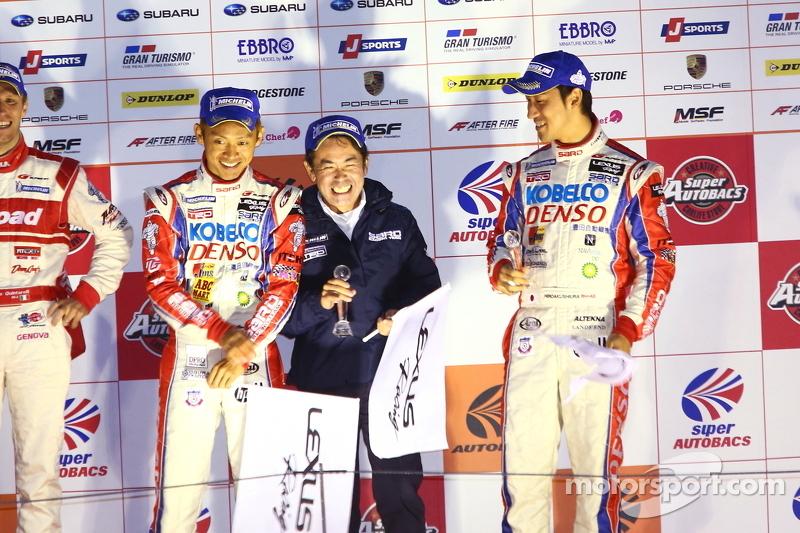 GT500 kampioenschap podium