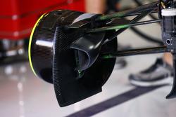 Red Bull Racing brake detail