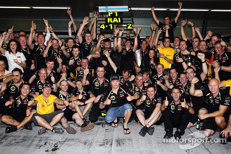 2012: Kimi se reencuentra con el triunfo