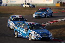 Robert Huff, Chevrolet Cruze 1.6T, Chevrolet and Yvan Muller, Chevrolet Cruze 1.6T, Chevrolet