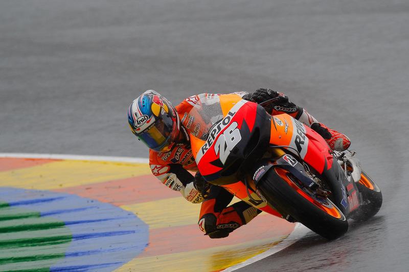 2012. Гонка проходила під сильним дощем, була складною і хаотичною. Педроса був на першому колі 20-м, на другому колі поліпшився до 15-го місця, на четвертому став шостим, на шостому другим. На 14-му колі він очолив гонку і залишався першим до фінішу.