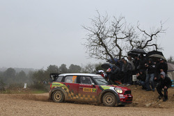 Daniel Sordo en Carlos del Barrio, Mini John Cooper Works WRC, Prodrive MINI WRC TEAM