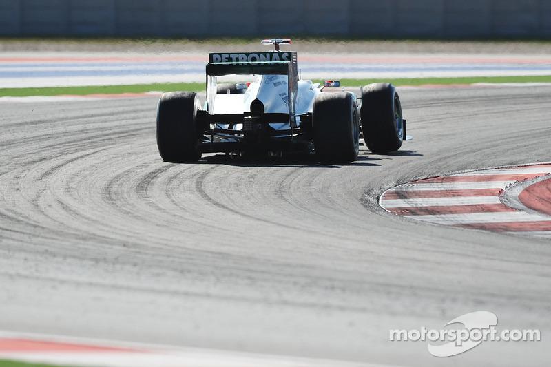 Михаэль Шумахер. ГП США, Воскресная гонка.